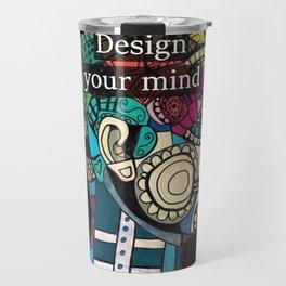 Mind blow Travel Mug
