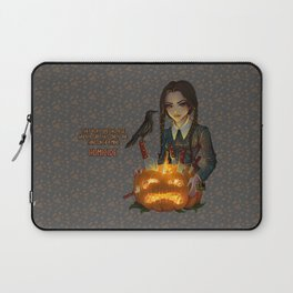 Wednesday Addams - Homicide Laptop Sleeve