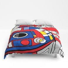 Star Wars Pop Art - Abstract R2D2 Comforters