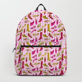 Stilettos and High Heels Shoe Pattern Backpack