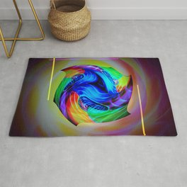 Abstract in perfection - Cube 5 Rug