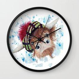 Och Aye Wall Clock