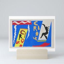 Henri Matisse - The Circus (Jazz) Henri Matisse 1947 - Original Artwork Reproduction Mini Art Print