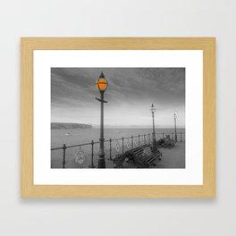 UNDER THE LAMPLIGHT Framed Art Print