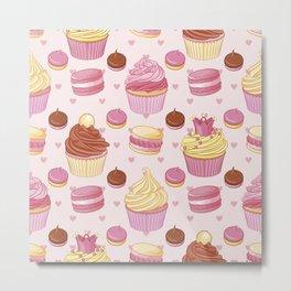 Pink Dessert Metal Print