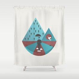 """""""Ceci n'est pas Magritte."""" Shower Curtain"""
