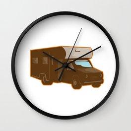 Campervan Motorhome Retro Wall Clock