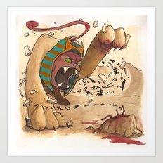 Sphinx Art Print