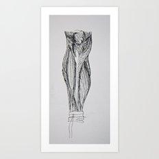 anatomy 201 Art Print