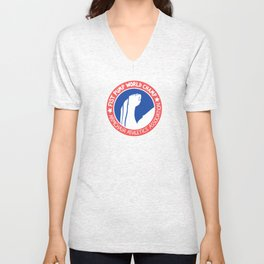 Fist Pump World Champ Unisex V-Neck