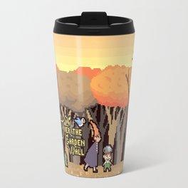 Over the Garden Pixel Travel Mug