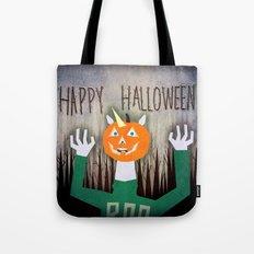 Happy Halloween Unicorn Tote Bag