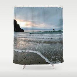 Pacific Ocean Dreaming Shower Curtain