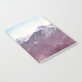Glitched Mountains Notebook