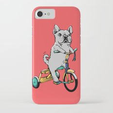 Frenchie Ride iPhone 7 Slim Case