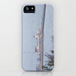 Foggy Eastern Point Lighthouse iPhone Case
