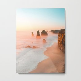 Golden Hour at the 12 Apostles Metal Print