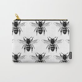 The Bee's Knees Black Carry-All Pouch