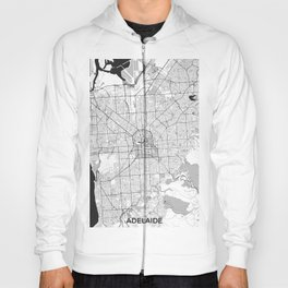 Adelaide Map Gray Hoody