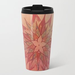 Flower Mandala Travel Mug