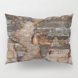 Reclaimed Map Pillow Sham