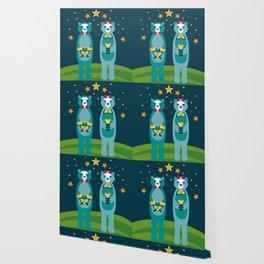 Beary In Love Wallpaper