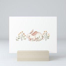 Blossom Bunny Mini Art Print