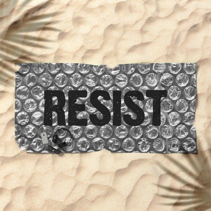 Resist Beach Towel