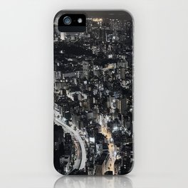 Tokyo by Night, Japan. iPhone Case