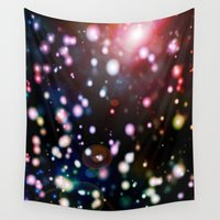 voyage Wall Tapestries featuring COSMIC VOYAGE by shannon's art space