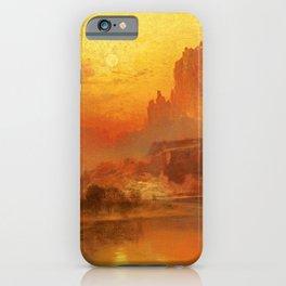 Thomas Moran - The Golden Hour, 1875 iPhone Case