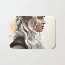 Mother of Dragons Bath Mat