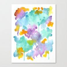 Spring Sherbet Canvas Print