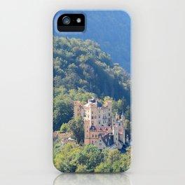 Schlöss Hohenschwangau iPhone Case