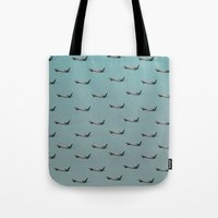 planes Tote Bags featuring Planes by Oscar Lagunah