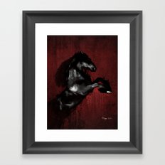 The Horse Framed Art Print