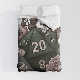 Rogue Class D20 - Tabletop Gaming Dice Comforters