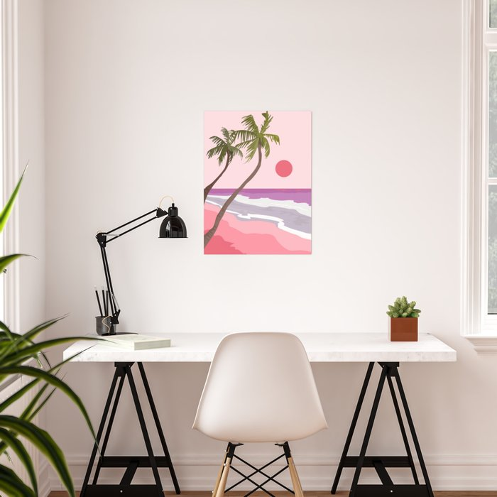 Tropical Landscape 01 Poster