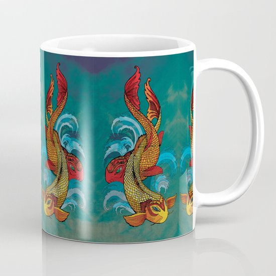 A tale of two fins. Mug
