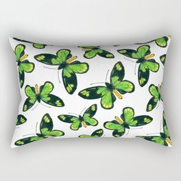 Queen Victoria' s birdwing butterfly pattern Rectangular Pillow