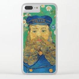 Vincent Van Gogh - Portrait of the Postman Joseph Roulin Clear iPhone Case