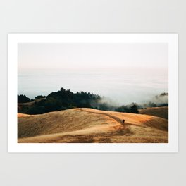 Fog Rolls in For a Lucky Photographer - 35mm Film Art Print