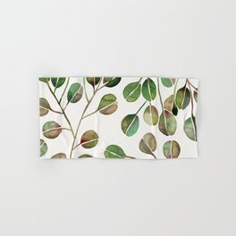 Silver Dollar Eucalyptus – Green Palette Hand & Bath Towel
