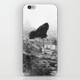 Old time Godzilla vs King Kong Reprised iPhone Skin