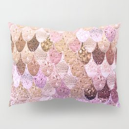 SUMMER MERMAID MOONSHINE  GOLD 2 Pillow Sham