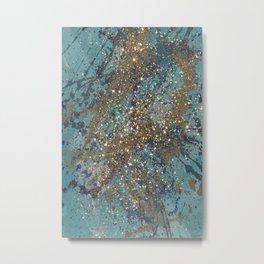 Glittering Metal Print