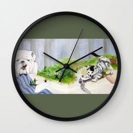 Normandy (Churchill VS Hitler) Wall Clock