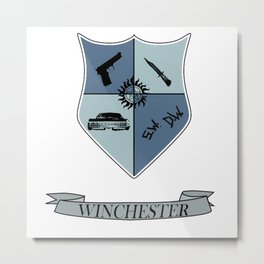 Winchester Coat of Arms Metal Print