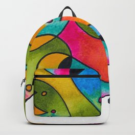 Abstract Gradient Critters Backpack