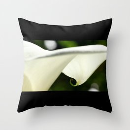 Under a Lily Throw Pillow